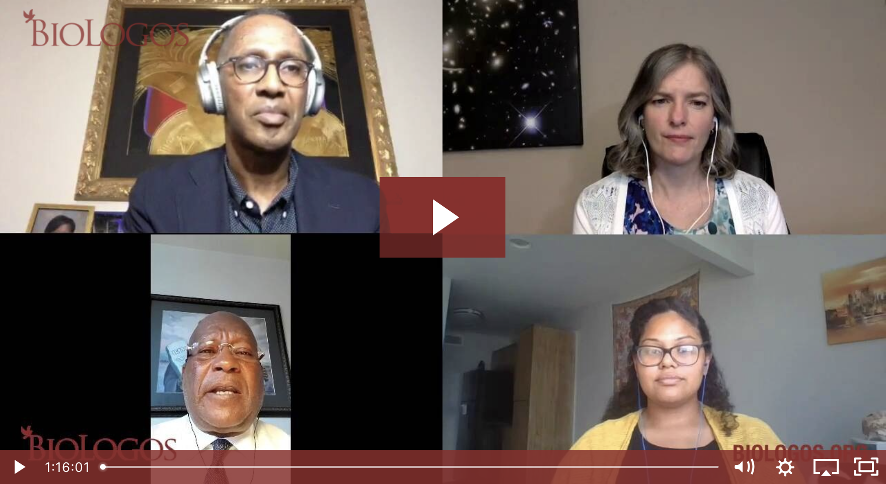 BioLogos conversation on Why Black Lives Matter for Science and Faith