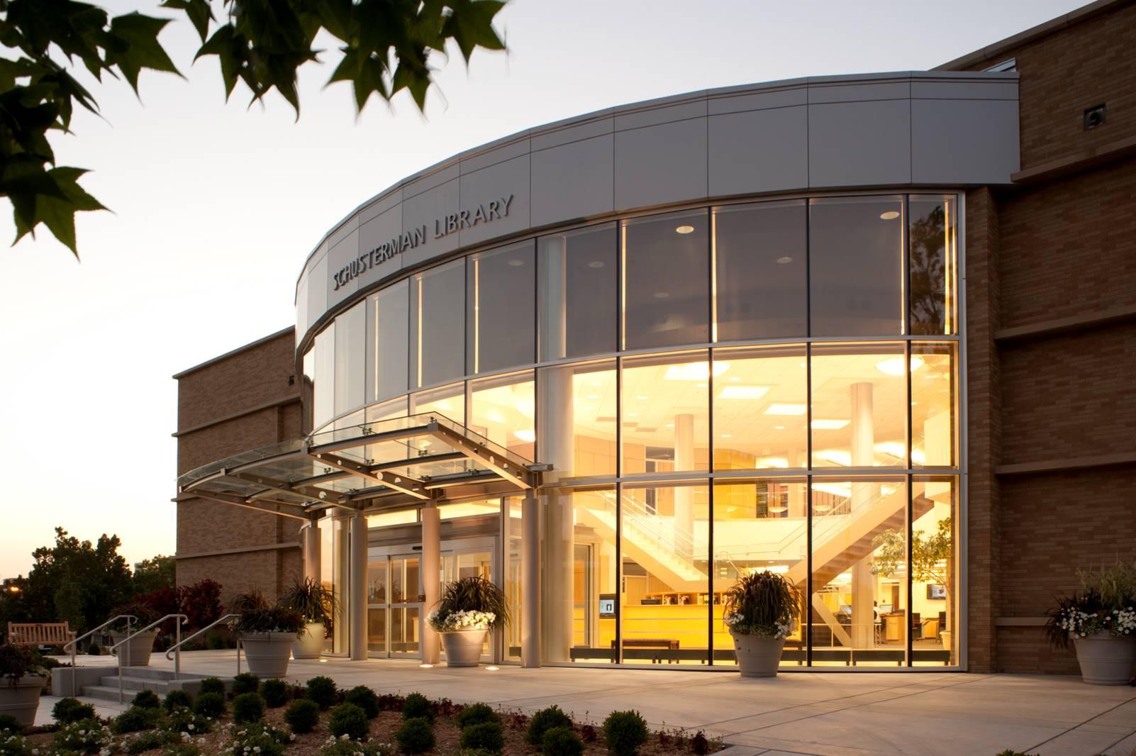 Schusterman Library, OU Tulsa campus