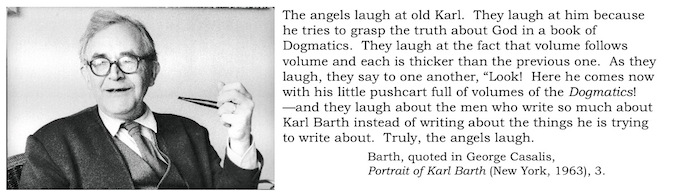 Karl Barth bookmarks