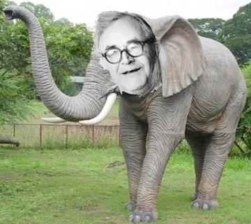 Karl Barth is an elephant