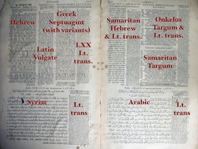 Walton's Polyglot, 1653.